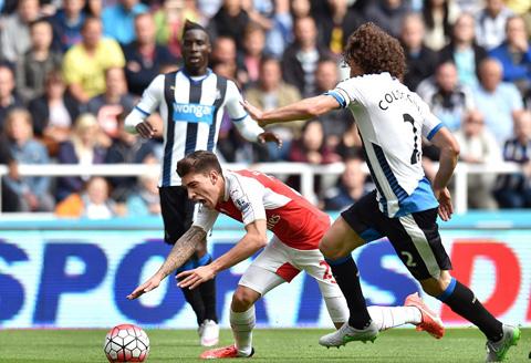 Newcastle United 0 - 1 Arsenal (Ngoại Hạng Anh 2015-2016, vòng 4)