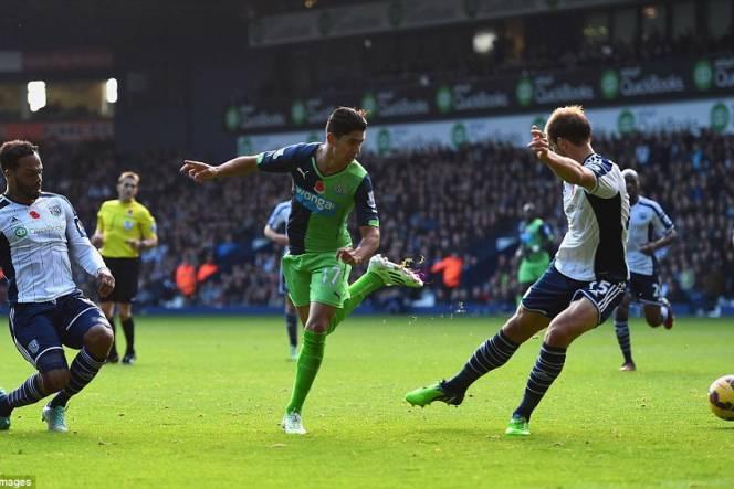 Newcastle United 1 - 1 West Bromwich (Ngoại Hạng Anh 2014-2015, vòng 36)
