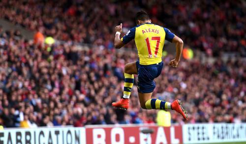 Sunderland 0 - 2 Arsenal (Ngoại Hạng Anh 2014-2015, vòng 9)