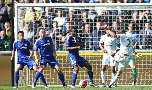 Swansea City 1 - 0 Chelsea (Ngoại Hạng Anh 2015-2016, vòng 33)