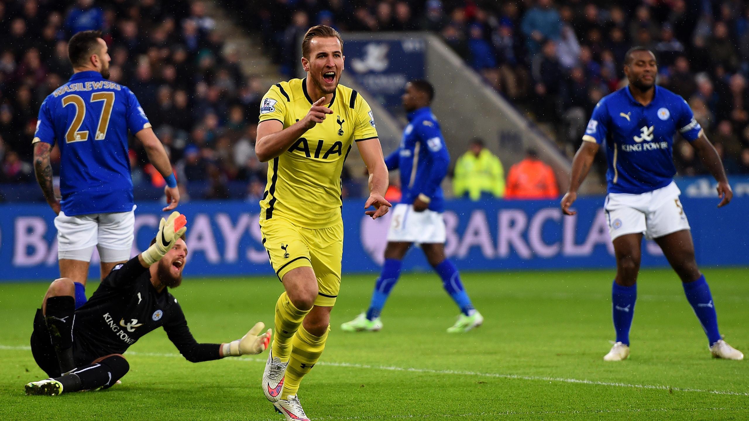 Tottenham Hotspur 4 - 3 Leicester City (Ngoại Hạng Anh 2014-2015, vòng )