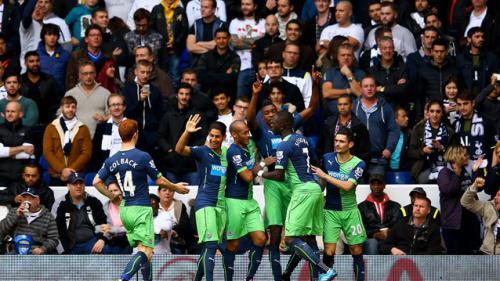 Tottenham Hotspur 1 - 2 Newcastle United (Ngoại Hạng Anh 2014-2015, vòng 9)