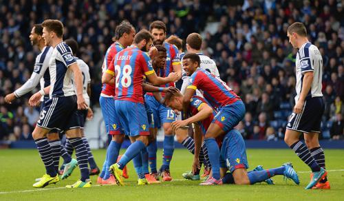 West Bromwich 2 - 2 Crystal Palace (Ngoại Hạng Anh 2014-2015, vòng 9)