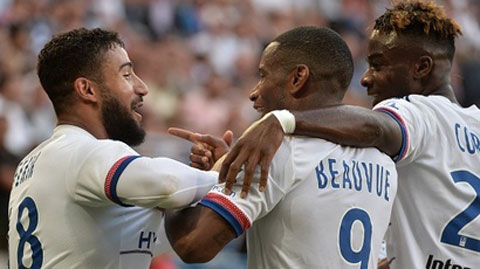 Caen 0 - 4 Lyon (Pháp 2015-2016, vòng 4)