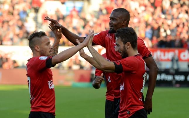 Guingamp 3 - 3 Monaco (Pháp 2015-2016, vòng 8)