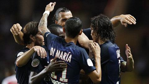 Monaco 0 - 3 Paris Saint Germain (Pháp 2015-2016, vòng 4)