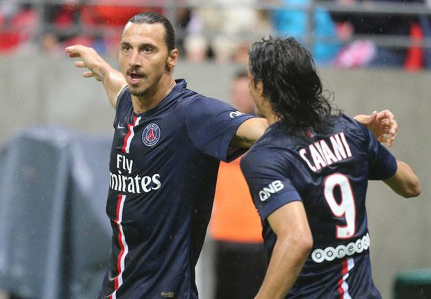 Stade Reims 2 - 2 Paris Saint Germain (Pháp 2014-2015, vòng  1)