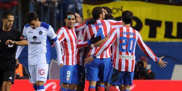 Atletico Madrid 2 - 0 Getafe (Tây Ban Nha 2014-2015, vòng 28)
