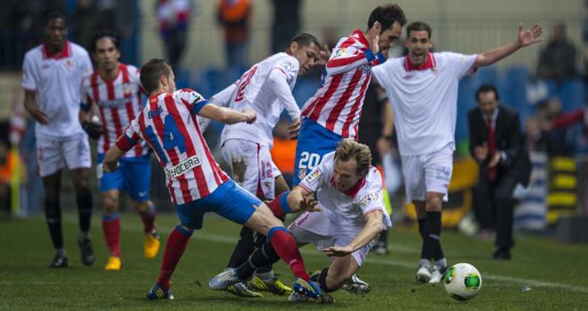 Atletico Madrid 3 - 1 Rayo Vallecano (Tây Ban Nha 2014-2015, vòng )