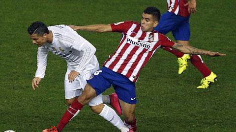 Atletico Madrid 1 - 1 Real Madrid (Tây Ban Nha 2015-2016, vòng 7)