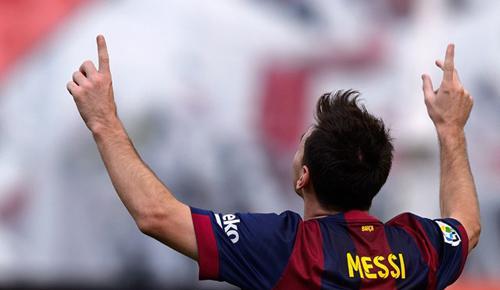 Barcelona 3 - 0 Eibar (Tây Ban Nha 2014-2015, vòng 8)