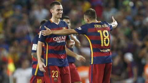 Barcelona 1 - 0 Malaga (Tây Ban Nha 2015-2016, vòng 2)