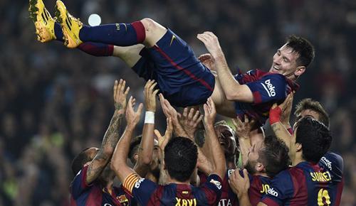 Barcelona 5 - 1 Sevilla (Tây Ban Nha 2014-2015, vòng 12)