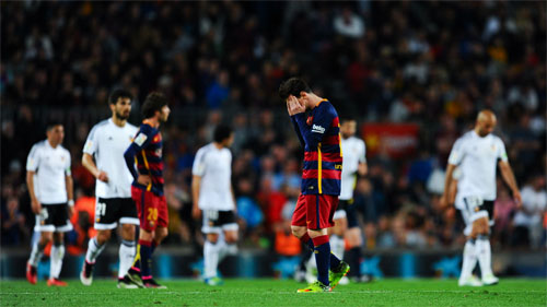 Barcelona 1 - 2 Valencia (Tây Ban Nha 2015-2016, vòng 33)