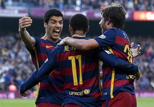 Barcelona 3 - 0 Villarreal (Tây Ban Nha 2015-2016, vòng )