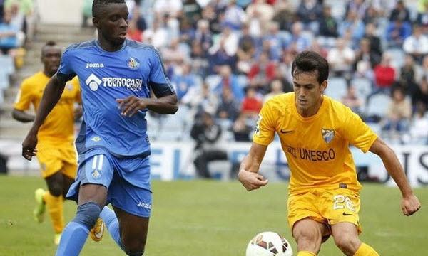 Cordoba C.F. 1 - 2 Malaga (Tây Ban Nha 2014-2015, vòng 8)