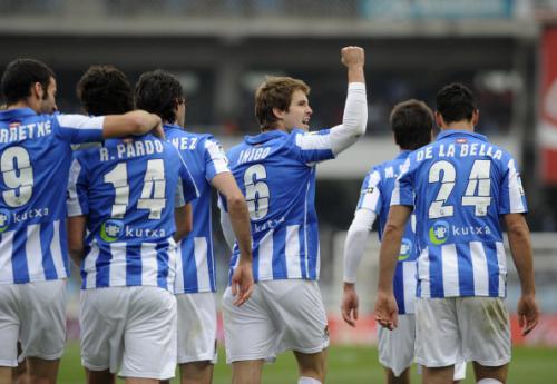 Cordoba C.F. 1 - 1 Real Sociedad (Tây Ban Nha 2014-2015, vòng 9)