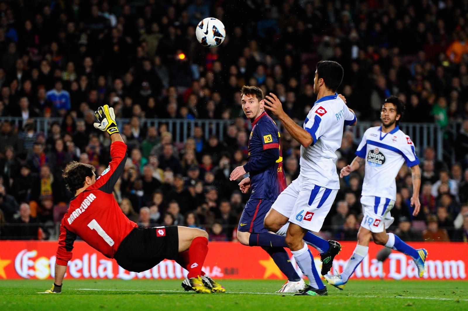 Deportivo La Coruna 0 - 4 Barcelona (Tây Ban Nha 2014-2015, vòng )