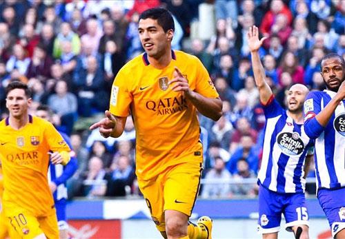 Deportivo La Coruna 0 - 8 Barcelona (Tây Ban Nha 2015-2016, vòng 34)