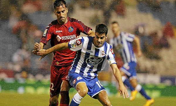 Deportivo La Coruna 0 - 0 Real Sociedad (Tây Ban Nha 2014-2015, vòng 12)