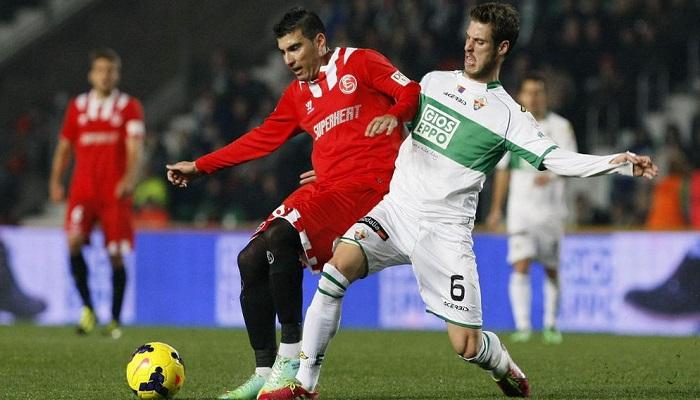 Elche 0 - 2 Sevilla (Tây Ban Nha 2014-2015, vòng 8)