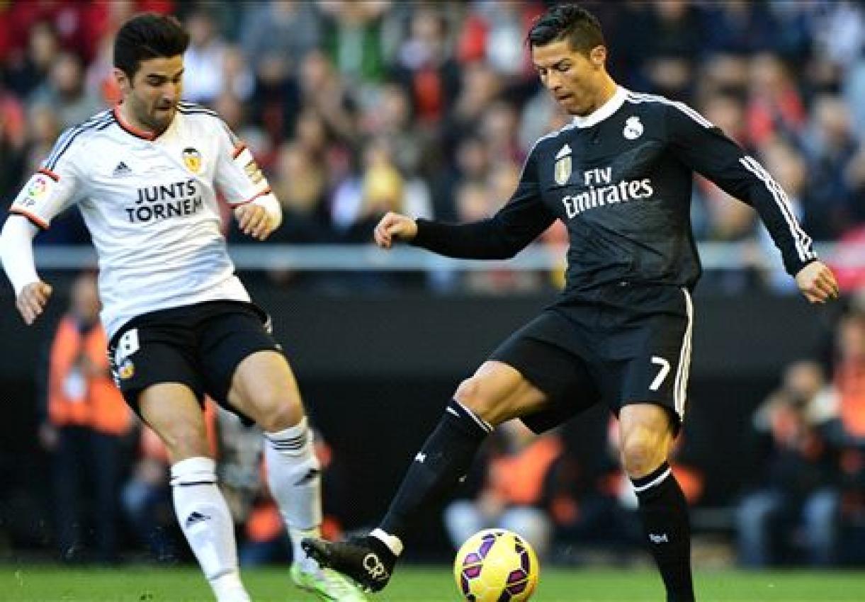 Real Madrid 2 - 2 Valencia (Tây Ban Nha 2014-2015, vòng 36)