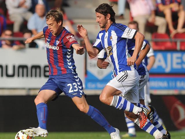 Real Sociedad 1 - 0 Eibar (Tây Ban Nha 2014-2015, vòng )