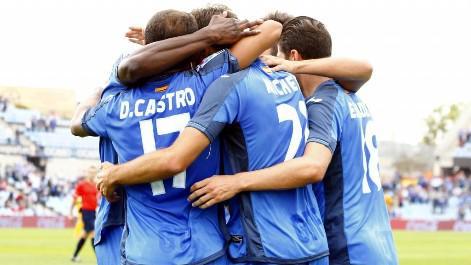 Real Sociedad 1 - 2 Getafe (Tây Ban Nha 2014-2015, vòng 8)