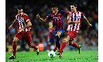 Atletico Madrid 2 - 3 Barcelona (Cup Nhà Vua Tây Ban Nha 2014-2015, vòng )