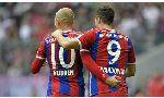 Augsburg 0-4 Bayern Munich (Germany Bundesliga 2014-2015, round 15)