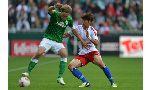 Hamburger 2-0 Werder Bremen (Germany Bundesliga 2014-2015, round 12)