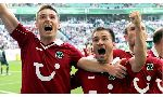 Hannover 96 2-0 Hamburger (Germany Bundesliga 2014-2015, round 3)