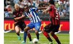 Hertha Berlin 0 - 5 Hoffenheim (Đức 2014-2015, vòng 17)