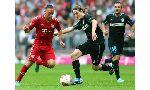 Hoffenheim 0 - 2 Bayern Munich (Đức 2014-2015, vòng 29)