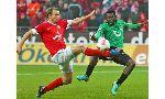 Mainz 05 2 - 0 Hannover 96 (Đức 2013-2014, vòng 21)