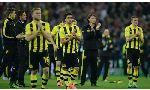 SC Paderborn 07 2 - 2 Borussia Dortmund (Đức 2014-2015, vòng 12)