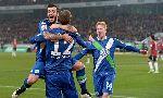 Wolfsburg 1-1 SC Paderborn 07 (Germany Bundesliga 2014-2015, round 15)
