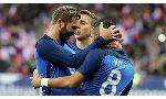 Pháp 4-2 Nga (International Friendly 2016)