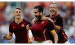 AS Roma 5 - 1 Carpi (Italia 2015-2016, vòng 6)