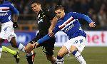 Sampdoria 2 - 2 Udinese (Italia 2014-2015, vòng 16)