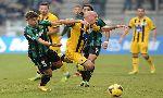 US Sassuolo Calcio 2-0 Atalanta (Italian Serie A 2013-2014, round 13)