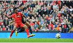 Liverpool 2-1 Southampton (English Premier League 2014-2015, round 1)
