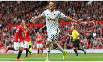 Manchester United 1-2 Swansea City (English Premier League 2014-2015, round 1)
