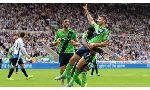 Newcastle United 2-2 Southampton (English Premier League 2015-2016, round 1)