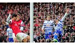 Queens Park Rangers 1 - 2 Arsenal (Ngoại Hạng Anh 2014-2015, vòng 28)