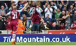 Stoke City 0-1 Aston Villa (English Premier League 2014-2015, round 1)