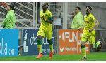 Guingamp 0 - 1 Nantes (Pháp 2014-2015, vòng 9)