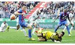 Lens 0 - 0 Caen (Pháp 2014-2015, vòng 8)