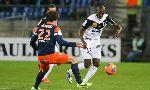 Montpellier 2 - 1 Guingamp (Pháp 2014-2015, vòng 8)