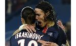 Paris Saint Germain 4 - 1 Saint-Etienne (Pháp 2015-2016, vòng 11)
